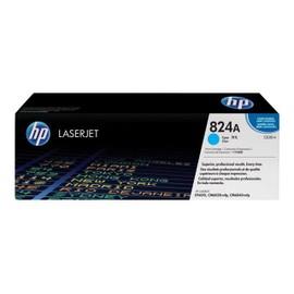 Hp 824a - Cyan - Original - Laserjet - Cartouche De Toner ( Cb381a ) - Pour Color Laserjet Cm6030, Cm6040, Cp6015