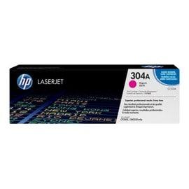 Hp 304a - Magenta - Original - Laserjet - Cartouche De Toner ( Cc533a ) - Pour Color Laserjet Cm2320fxi, Cm2320n, Cm2320nf, Cp2025, Cp2025dn, Cp2025n, Cp2025x