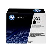 Hp 55x - � Rendement �lev� - Noir - Original - Laserjet - Cartouche De Toner ( Ce255x ) - Pour Laserjet Enterprise 500, Flow Mfp M525, P3015; Laserjet Pro Mfp M521