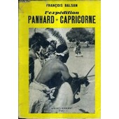 L'expedition Panhard Capricorne. de fran�ois balsan