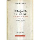 Breviaire De La Haine Le Iiie Reich Et Les Juifs. de l�on poliakov