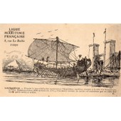 Carte Postale Ancienne Numero 1 De La Ligue Maritime Francaise - Illustree Par Albert Sebille - 1908