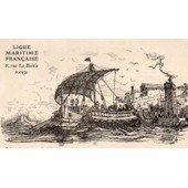 Carte Postale Ancienne De La Ligue Maritime Francaise Numero 4 - Illustree Par Albert Sebille 1908