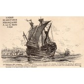 Carte Postale Ancienne Numero 8 De La Ligue Maritime Francaise - Illustree Par Albert Sebille