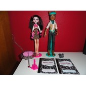Clawd Wolf Et Draculaura Ombrelle - Monster High