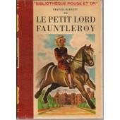 Le Petit Lord Fauntleroy de BURNETT, Frances