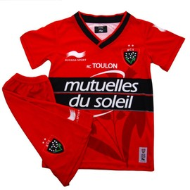 Burrda Mini Kit Rugby Rct Home 2014/2015 Maillot De Rugby Rc Toulon