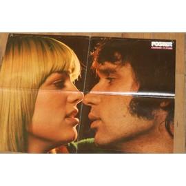 poster 40x55cm magazine POSTER MAGAZINE / recto STONE et ERIC CHARDEN / verso album souvenir STONE , ERIC et BAPTISTE CHARDEN