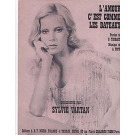 Sylvie Vartan L'amour c'est comme les bateaux