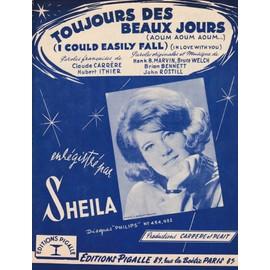 Sheila Toujours des beaux jours