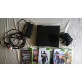 Xbox 360 250 Go + 21 jeux + manette filaire