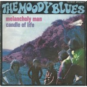 Melancholy Man (M. Pinder) 4'45 / Candle Of Life (Lodge) 4'19 - The Moody Blues