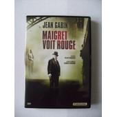 Maigret Voit Rouge 1963 Sortie Dvd 2014 de Gilles Grangier