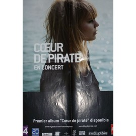 COEUR DE PIRATE affiche 60 x 40 cm. UNIVERSAL. BARCLAY. 2008.