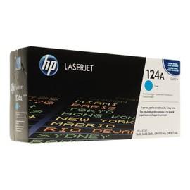 Hp 124a - Cyan - Original - Laserjet - Cartouche De Toner ( Q6001a ) - Pour Color Laserjet 1600, 2600n, 2605, 2605dn, 2605dtn, Cm1015 Mfp, Cm1017 Mfp