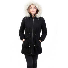 Reorder Femmes Capouche Padded Hiver Parka