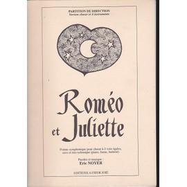 ROMEO ET JULIETTE Poème symphonique pour choeur à 2 voix égale,saxo, piano, basse et batterie
