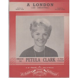 PETULA CLARK PARTITION  A LONDON