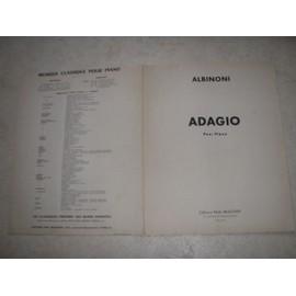 ADAGIO pour piano