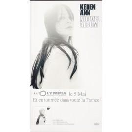 KEREN ANN nouvel album PLV borne d'écoute 14x25 cm recto