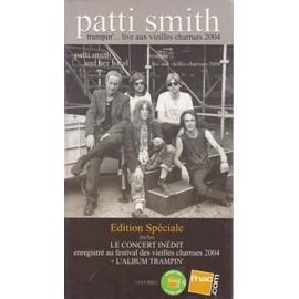 PATTI SMITH trampin' P L V borne d'écoute 14x25 cm recto-verso
