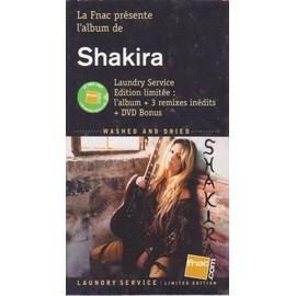 SHAKIRA laundry service P L V borne d'écoute 14x25 cm recto-verso