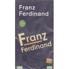 FRANZ FERDINAND PLV borne d'écoute 14 x 25 cm RECTO