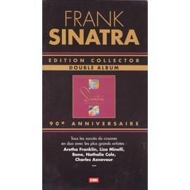 FRANK SINATRA 90e anniversaire PLV borne d'écoute 14 x 25 cm RECTO