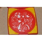 Mandala Designer Boite Dimensions 14 X 14 Cm Environ