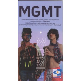 MGMT PLV borne d'écoute 14 x 25 cm RECTO-VERSO