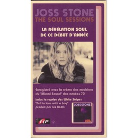 JOSS STONE the soul sessions P L V borne d'écoute 14x25 cm recto