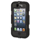 Coque Etui Int�grale Survivor Militaire Noir Pour Apple Iphone 5 + Film