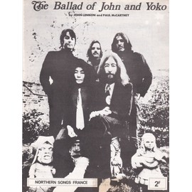 "The Beatles ""The Ballad of John and Yoko"""