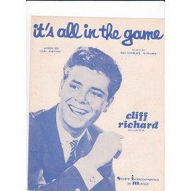 "Cliff Richard ""It's all in the game"""