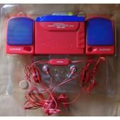 GORTRON Lecteur de Cassettes Stereo Vintage et ses HP WK333