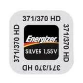 1 Pile 371 / 370 Sr920sw/Sr920w Energizer 1,55v Pile Bouton Pour Montre 0% Mercure