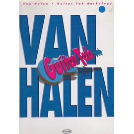 Van Halen guitar tab anthology