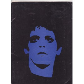 LOU REED Press Kit USA the blue mask : 2 photos, Poster, biography