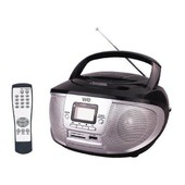 Radio Cd/Mp3 Compacte Nomade Blanc We-107