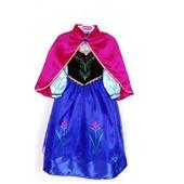Superb Robe Elsa La Reine Des Neiges Grande Taille Enfant 8 � 12 Ans Pour F�te Anniversaire Soir�e Look Princesse Esla