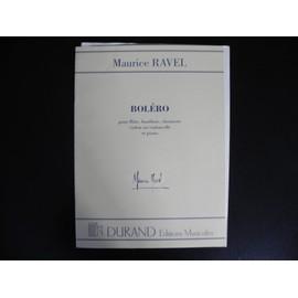 boléro pour flûte, hautbois, clarinette, violon ou violoncelle et piano - Transcription pour saxophone soprano et ténor