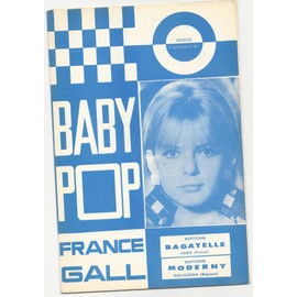"Partition ""Baby Pop"" + ""Cet air-là"" (France Gall)"