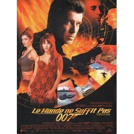 James Bond 007- Le Monde Ne Suffit Pas, Synopsis, Michael Apted, Avec Pierce Brosnan, Sophie Marceau