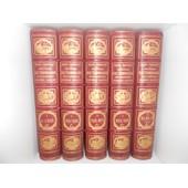 Nouveau Dictionnaire Encyclop�dique De Jules Trousset. Complet 5 Volumes