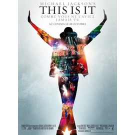 poster michael jackson this is it 41 x 56 cm