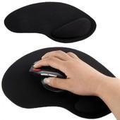 Tapis de souris repose poignet de qualit� ergonomique ultra fin noir