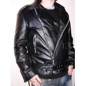 Veste Blouson En Cuir V�ritable Fabrique En Italie Taille Homme S M L Xl Xxl 3xl 4xl Creazioniinpelle