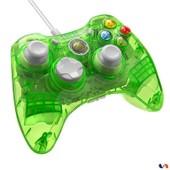 Manette Filaire Rock Candy Pour Xbox 360 - Mod�le Vert