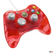 Manette Filaire Rock Candy Pour Xbox 360 - Mod�le Rouge