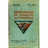 Cours Pratique De Conduite Automobile de Robert Benoist